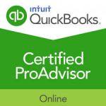 OuickBooks Online Certified ProAdvisor